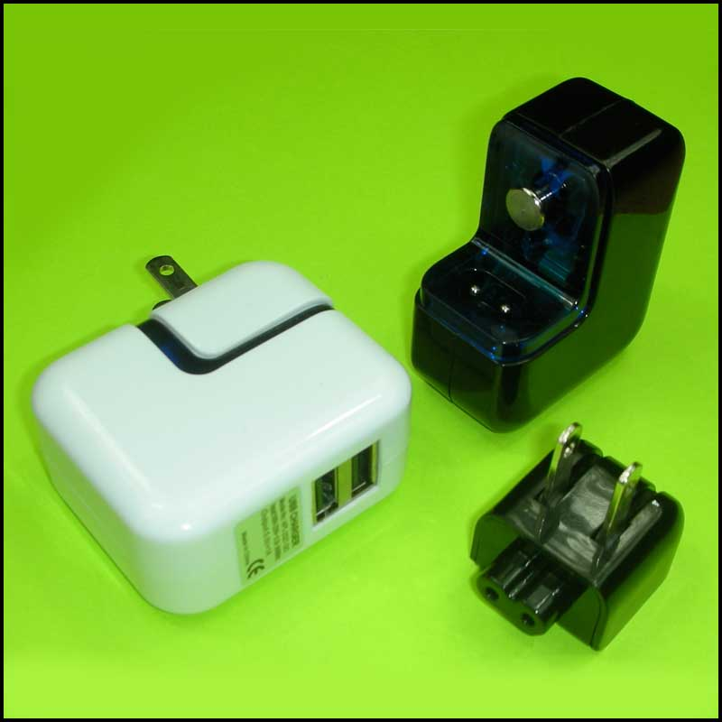 iPodWizards USB AC Cube (2 USB)