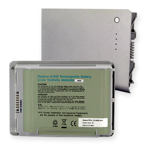 "Battery: for Aluminum PowerBook (12"")"