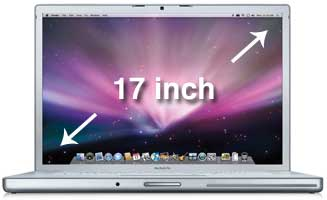 macbook pro 17 inch battery